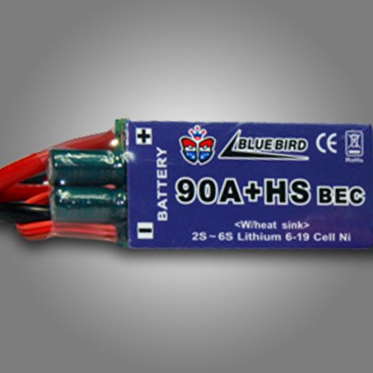 Bluebird Electric Speed Controller 90Amp+HS
