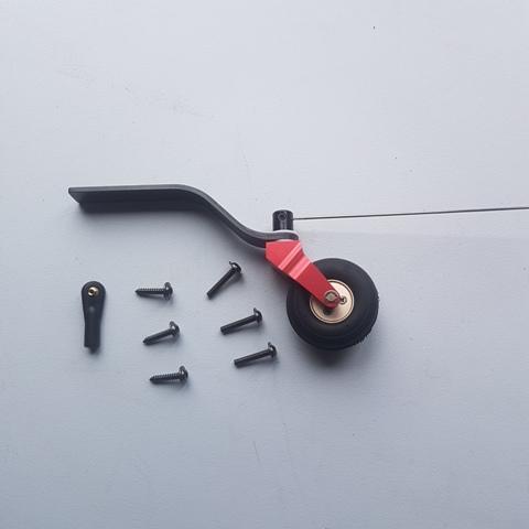 Carbon Fibre Tail Wheel 50-70cc