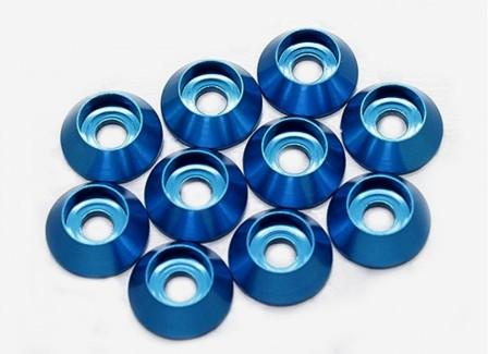 "Kuza 3mm Wide Washer Blue(With ""O"" Ring)"