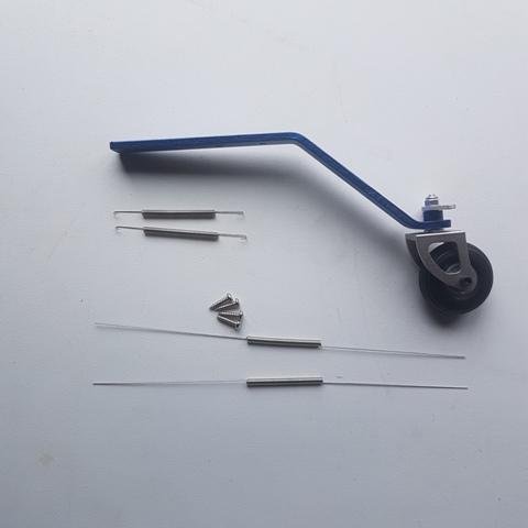 Miracle Aluminium Tailwheel Asm 120cc