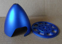 """Aluminium Spinner 3"""" (Blue)"""