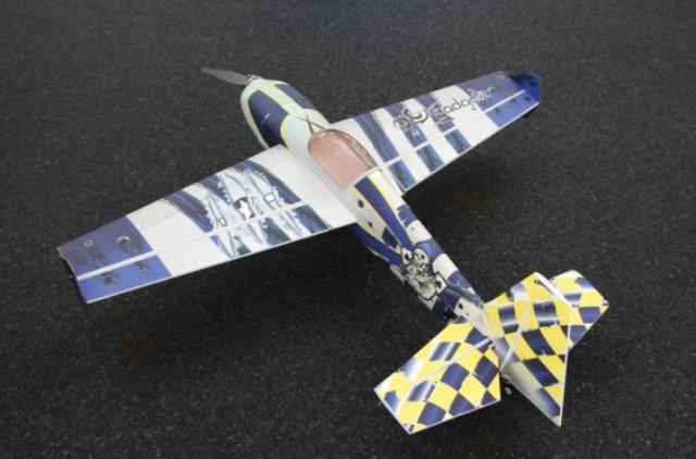 """RC Gadgetz Slick 560 54"""" Capt Spade Blue"""