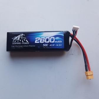 Leopard Lipo 14.8v 2600/50c 4s (Sold Out)