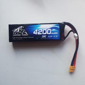 Leopard 11.1 Volt 4200/30C